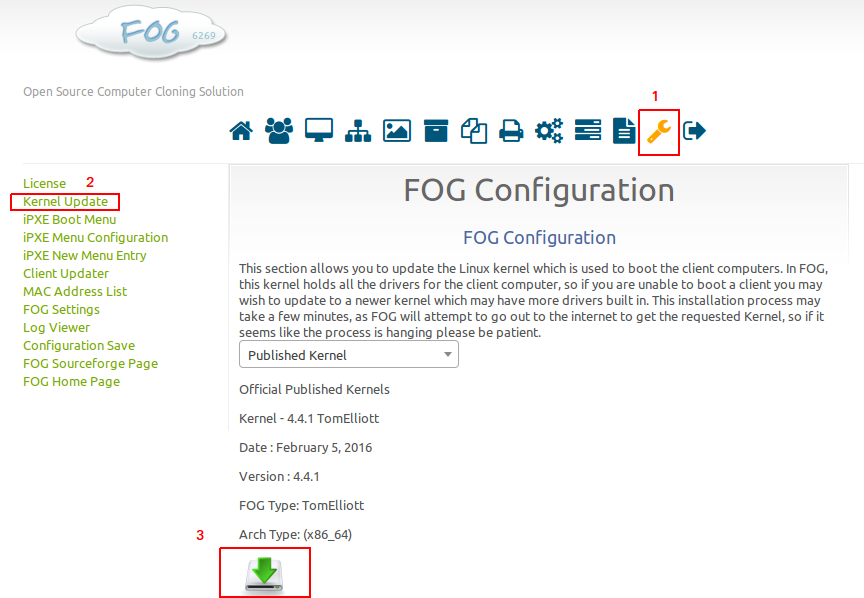 FOG 1.3.0 Kernel Update Feature.png