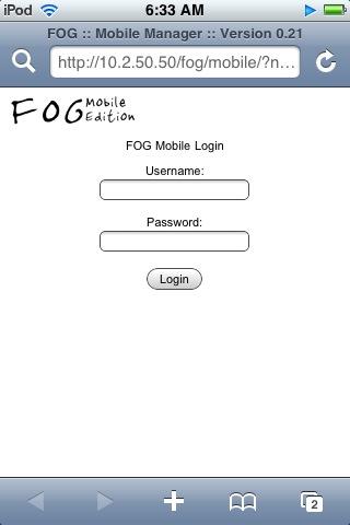 Managing FOG - FOG Project